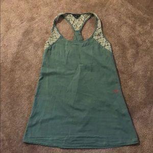 Green Volcom dress